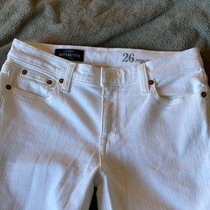 ** J. Crew matchstick jeans